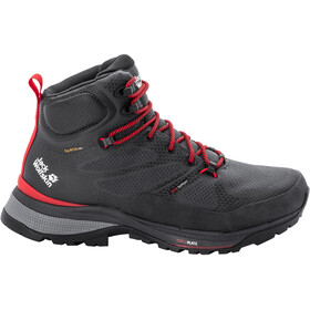 Jack Wolfskin Force Striker Texapore Mid Shoes Men phantom/red